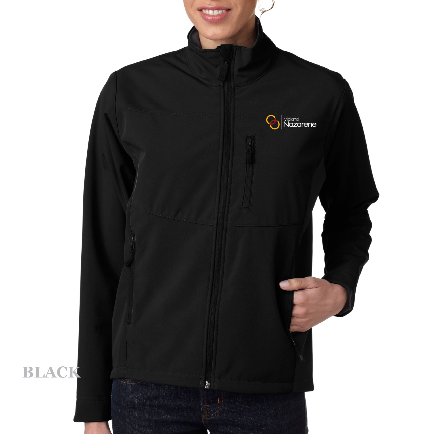 b8144323a Women's Waterproof/Breathable Soft Shell Jacket – Midland Nazarene ...